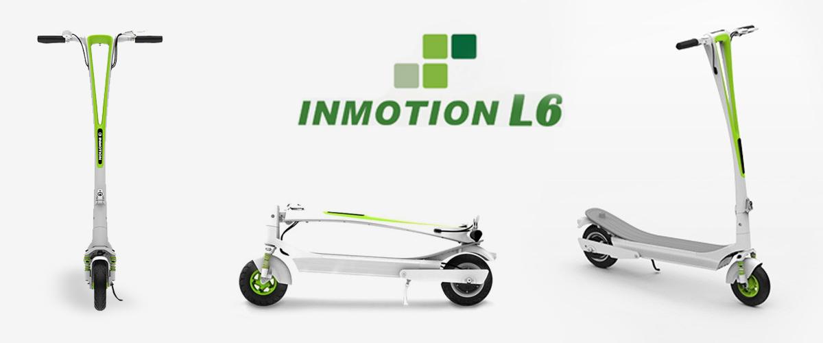 Test de la trottinette électrique InMotion L6